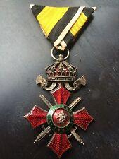 BULGARIE : Croix de Chevalier de l'Ordre du Mérite Militaire