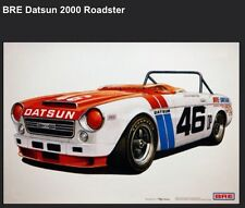 BRE Datsun 2000 Roadster - Car Poster New! Own It!
