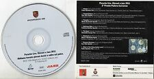 PORSCHE LIVE Giovani e Jazz 2011 CD cardsleeve SPECIAL LTD EDIT. Fabio Giachino