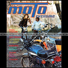 MOTOCYCLISME N°55-b YAMAHA RD 250 125 TRIAL MONTESA COTA CIMATTI AGOSTINI 1974