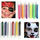 6X Kit Set Face Body Painting Crayon Sticks Party Fancy Halloween Stage makeup