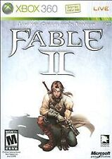 XBOX 360 Fable II LIMITED COLLECTOR'S EDITION Video Game two 2 adventure rpg LE