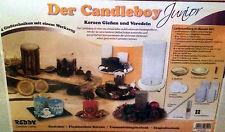 Le Candleboy Junior Set Moule Fonte Bougie Fabrication De Bougie Moule Bougies