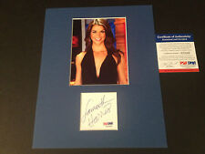 Samantha Harris DWTS Signed Auto 8x10 PHOTO PSA/DNA