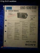 Sony Service Manual DSC S30 /S50 Level 1 Digital Still Camera (#6588)