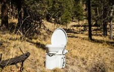 NATURE'S HEAD COMPOSTING TOILET CAMP RV MARINE CABIN  + Free extra Urine bottle