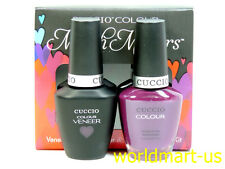 CUCCIO VENEER Match Makers Soak Off Gel Polish & Matching Larquer Color / Part 1