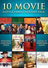 Faith & Family Holiday Movie 10-Pack (The Christmas Shoes, The Christmas Blessin