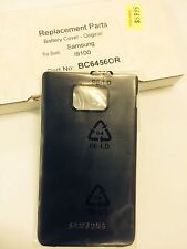 Samsung Galaxy S2, SII i9100 Battery Cover Door Black - Original Part. Brand New