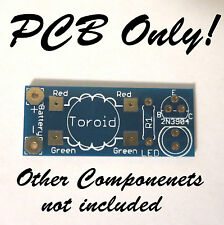 Joule Thief DIY LED Kit - PCB ONLY - Training for STEM - Video and PDF Tutorials