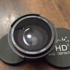 objectif  Opteka semi fisheye 0,35x  conversion  lens