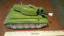 Vintage cragstan battery operated tin toy tank made in japan tin toy lot
