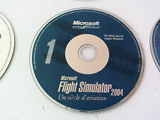 cd n°1 du jeu Microsoft flight simulator 2004 PC FR