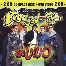 En Vivo [CD & DVD] by Pegasso Del Pollo Estevan (CD, Dec-2004, Disa)