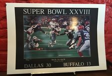 Peter Nickelback Super Bowl XXVIII Back To Back Collector's Edition Poster