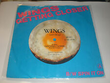SINGLE WINGS - GETTING CLOSER - ODEON GERMANY 1979 VG/VG+