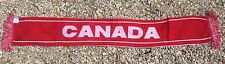 Canada Soccer Scarf ~ Country Of Canada Scarf