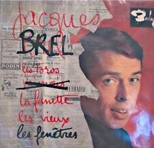 ++JACQUES BREL les toros/les fenetres/la fanette/les vieux EP BARCLAY VG++