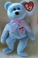 TY Beanie Babies Retired and Introduced in 2002 EGGS II Easter Bear NEW