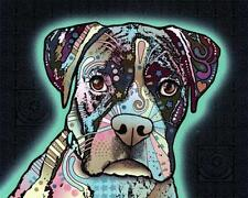 New! Love Thy Boxer by Dean Russo Dog Animal Art Wall Print Home Decor 807840