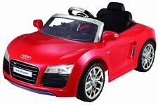 Audi R8 Lizenz-Auto Elektroauto Kinderauto 12V 2x Motoren Fernbedienung ROT NEU