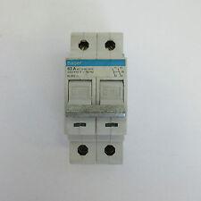 Hager 63A interruptor de circuito bipolar de 2