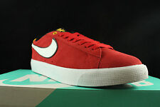 NIKE SB BLAZER LOW GT GRANT TAYLOR UNIVERSITY RED WHITE 704939 610 SZ 13