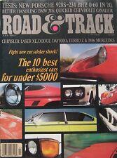 Road & Track 07/1983 featuring Porsche 928S road test, Chevrolet, Bentley, BMW