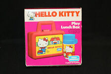 1983 Hello Kitty Lunch Box And Thermos Set