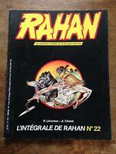l'intégrale de rahan no 23 (1985) lécureux chéret les larmes qui volent
