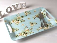 KATIE ALICE Cottage Flower SHABBY CHIC Luxury Large SERVING TRAY Vintage Inspire
