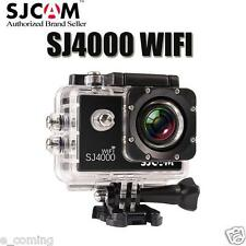 USA SJCAM SJ4000 WiFi Waterproof DV Action Sports Camera HD 1080P Camcorder BK