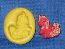 Push Mold My Little Pony Food Safe Silicone #838 Gumpaste Cake Chocolate Resin