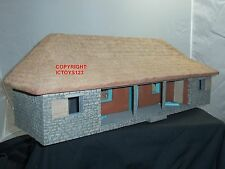BRITAINS 20009 ZULU WAR RORKES DRIFT HOSPITAL BUILDING TOY SOLDIER DIORAMA SET