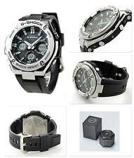 CASIO G-SHOCK G-STEEL, GSTS110-1A GST-S110-1A, SOLAR, STEEL BEZEL x RESIN BAND
