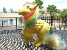 Sea: VTG G1 MY LITTLE PONY PEGASUS RAINBOW SKYDANCER 'F' GLITTER BIRDS - FLAWED