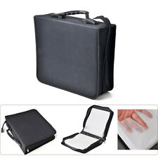 288 Capacity Disc CD DVD Storage Holder Cover Carrying Case Binder Book Sleeves