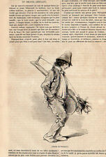 THEATRE AMBULANT MOVING THEATER PRESS ARTICLE 1846 CLIPPING