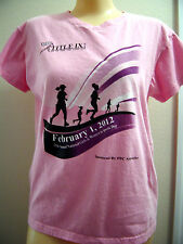 ANIL TITLE 1X 26TH  ANNUAL GIRLS & WOMENS IN SPORTS DAY PINK T-SHIRT SIZE JR M