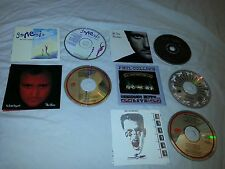 Lot of 5 Genesis Phil Collins Mike & Mechanics CDs No Jacket Both Sides Hits EUC
