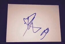 LUKE FRIEND SIGNED 6X4 WHITE CARD TV AUTOGRAPH THE XTRA FACTOR 100% GENUINE