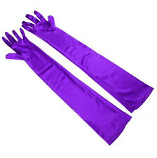 Fashion Satin Long Opera Gloves Bridal Wedding Evening Party Costume Gloves CY