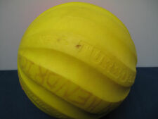 Vintage 1991 Parker Brothers Nerf Turbo Football Ball Pink Yellow Preowned