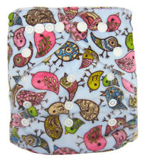Reusable Baby Infant Nappy Modern Cloth Diapers and Insert, Brids