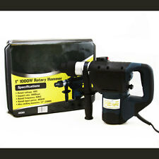 "1-1/2"" Electric SDS Rotary Hammer Drill Tool Kit w/Case"