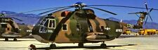 CH-3-E USAF Sikorsky S-61  Helicopter  Airplane Mahogany Kiln Wood Model Small