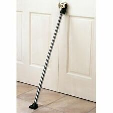 Deluxe Door Guard Security Brace Stick Hotel Room Protection Rod Bar Wedge NEW