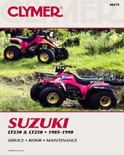 SUZUKI LT230 230 QUAD SPORT, LT250 250 REPAIR SHOP SERVICE MANUAL 85-90, M475