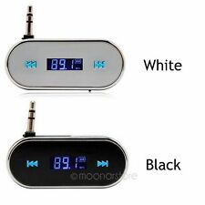 Durable Mini 3.5mm Car Kit Wireless FM Transmitter Audio MP3 Player for Phone AL