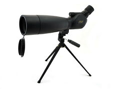 Visionking 20-60x80 Waterproof Bak4 Spotting scope Monocular Telescope W/Tripod